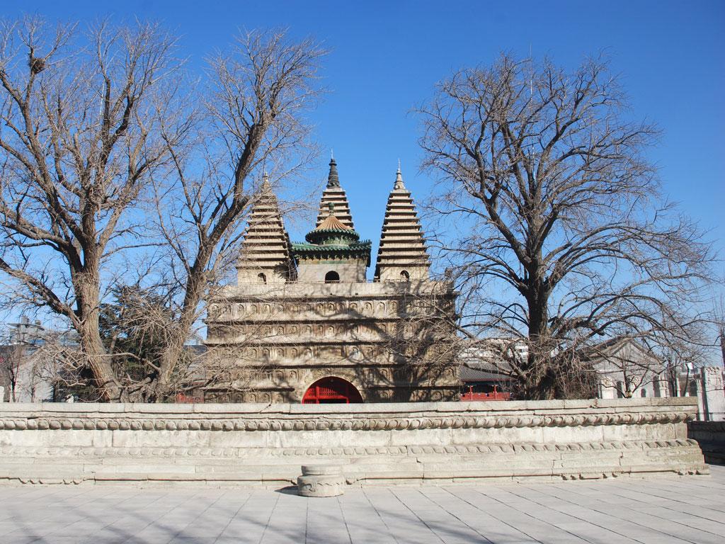 金剛座舎利宝塔(五塔寺)