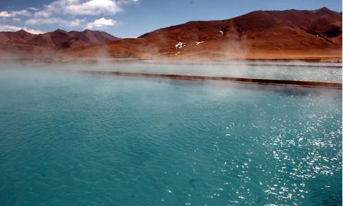 ヤンパチェン(羊八井)地熱温泉