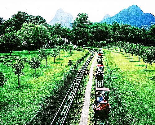 桂林1泊陽朔1泊3日間の旅