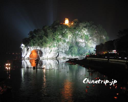 象鼻山の夜景