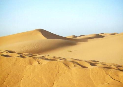 クブチ(庫布其)砂漠