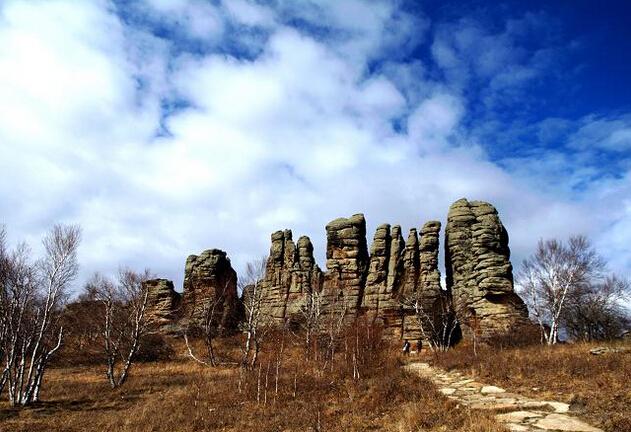 花崗岩石林