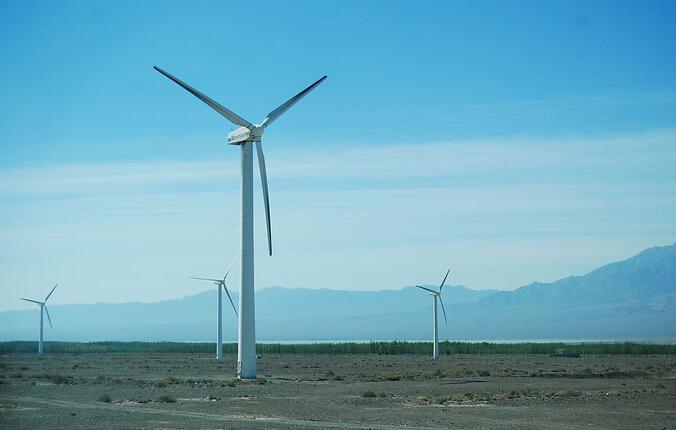 達坂城風力発電所