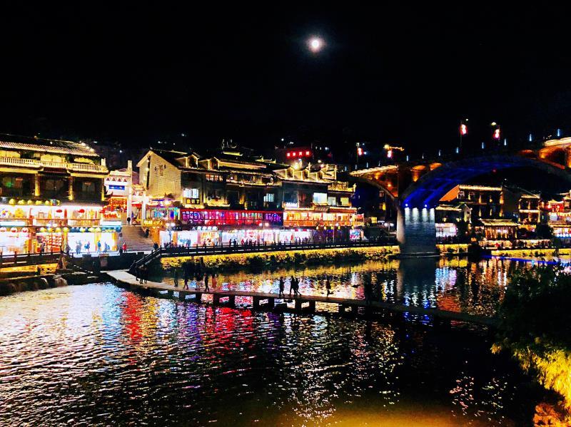 鳳凰古城 古城夜景