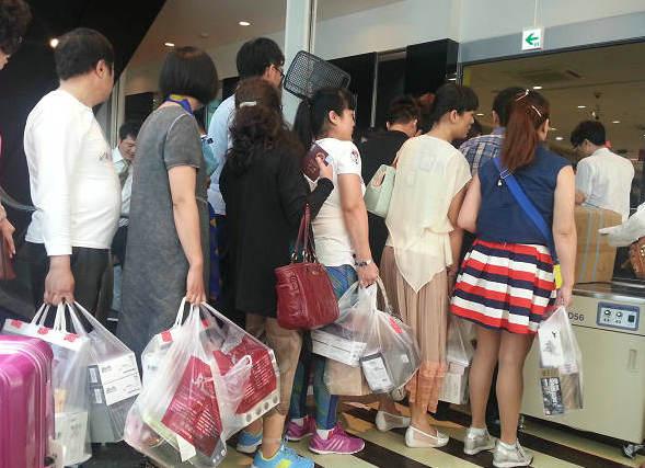 中国人の海外ショッピング