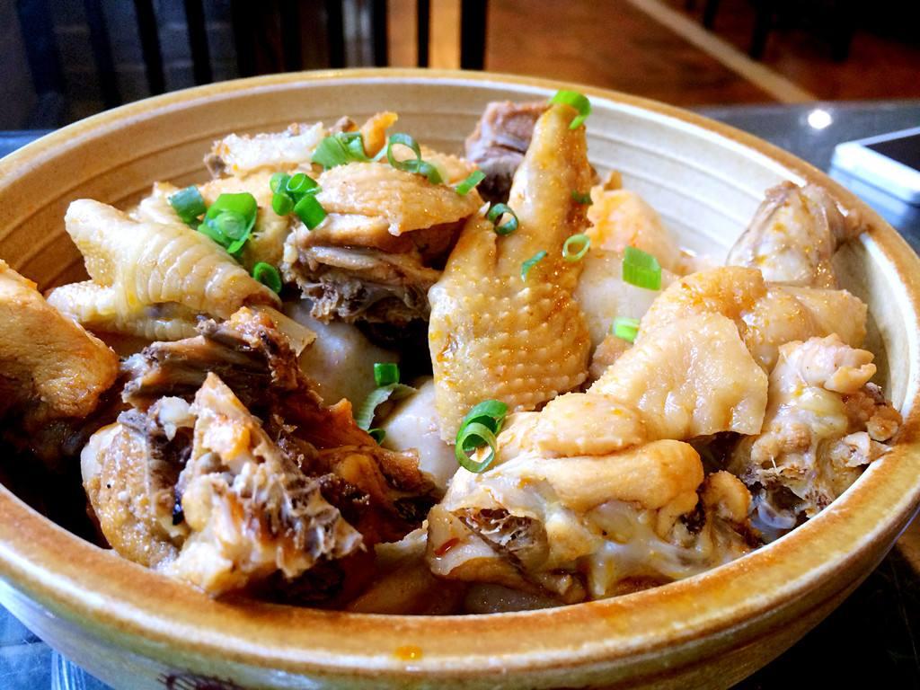 里芋鶏鍋料理