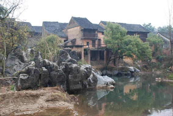 月嶺古村落
